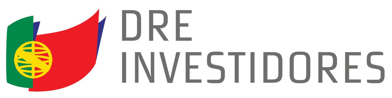 Logótipo DRE Investidores, aqui poderá voltar à página inicial